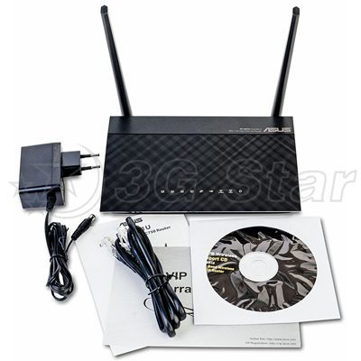 3G WiFi Маршрутизатор Asus RT-AC51U Dual Band комплектация