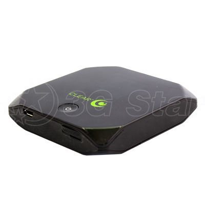 3G WiFi модем Sierra Wireless Overdrive (AirCard W801) вид сбоку